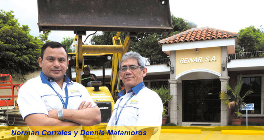 Norman Corrales y Dennis Matamoros - Reinar SA
