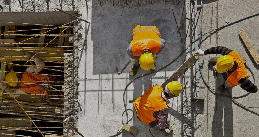 sector construcción en crecimiento